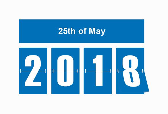 GDPR 25th May 2018